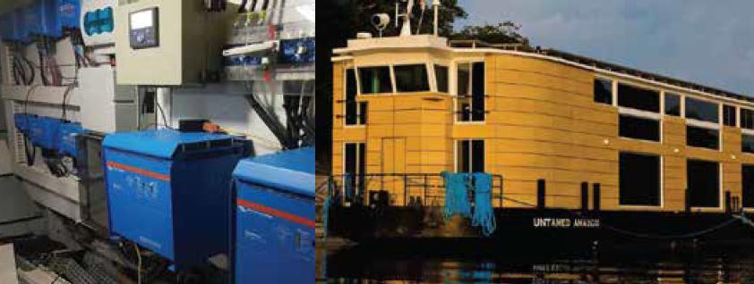 W28 Engenharia - Case de Sucesso Victron Energy Brasil - Embarcacao Untamed Amazon
