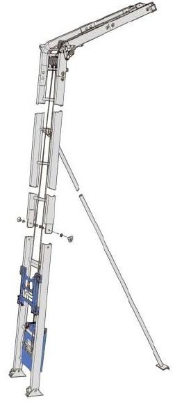 GEDA Lift - Esquema Básico de Montagem